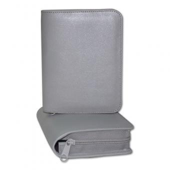 Silberbibel-Taschenausgabe Leder Silbergrau