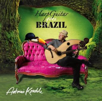 Antonio Koudele –Harp Guitar Goes Brazil